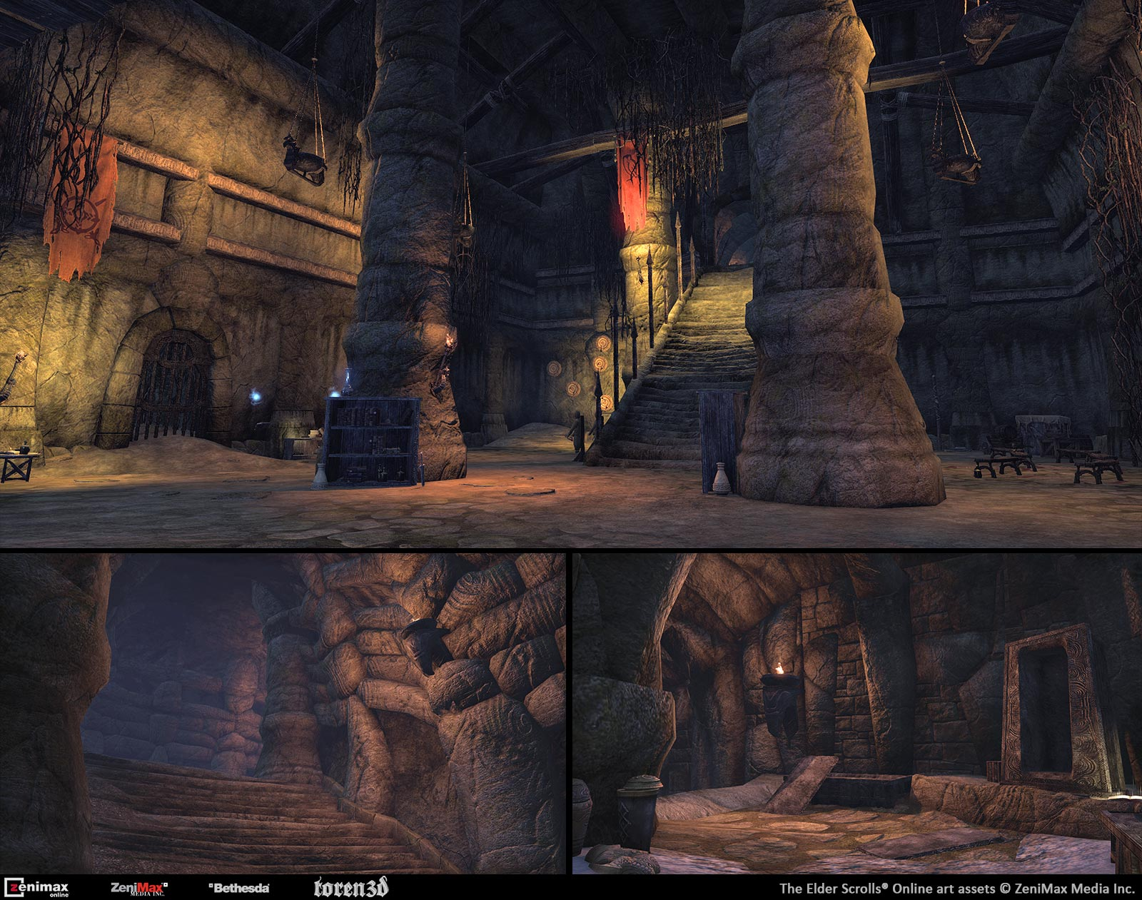 Toren3d The Elder Scrolls Online Environment Work Portfolio Of